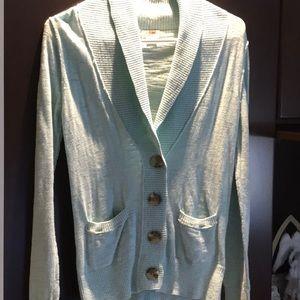 Mossimo size medium cardigan, turquoise
